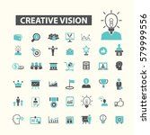 creative vision icons | Shutterstock .eps vector #579999556