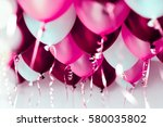 Colourful Balloons  Pink  Whit...