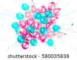 Colourful Balloons With Pink ...
