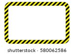 border with line yellow and... | Shutterstock .eps vector #580062586