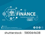 finance related words and... | Shutterstock .eps vector #580064638