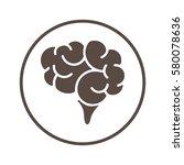 brain | Shutterstock .eps vector #580078636