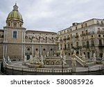 square pretoria  or shame ... | Shutterstock . vector #580085926