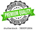 premium quality. stamp. sticker.... | Shutterstock .eps vector #580091806