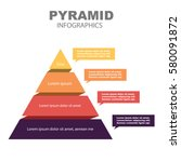 pyramid infographics | Shutterstock .eps vector #580091872