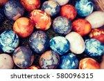 easter eggs | Shutterstock . vector #580096315