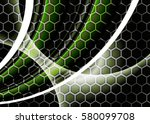 green abstract template for... | Shutterstock . vector #580099708