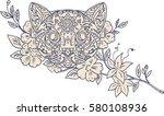 Mandala Style Illustration Of ...