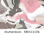 abstract halftone pattern... | Shutterstock .eps vector #580111156