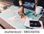 Tourist Planning Vacation With...