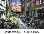 amsterdam  netherlands  june 7  ... | Shutterstock . vector #580161022