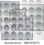 abstract set  background... | Shutterstock .eps vector #580192072