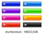 pork icon on long button... | Shutterstock .eps vector #58021108