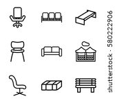 Comfortable Vector Icons. Set...