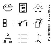 site vector icons. set of 9...