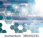 abstract background technology...   Shutterstock .eps vector #580242232