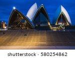 sydney   november 14  the...   Shutterstock . vector #580254862