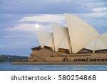 sydney   november 14  the...   Shutterstock . vector #580254868