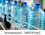 bottle with pure water | Shutterstock . vector #580291462