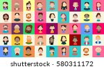 profile icon avatar image group ... | Shutterstock .eps vector #580311172