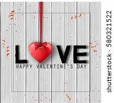 vector illustration of happy...   Shutterstock .eps vector #580321522