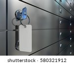 safe deposit boxes in bank  a... | Shutterstock . vector #580321912