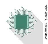 Cpu Microprocessor Illustratio...