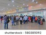 guangzhou china   november 13 ... | Shutterstock . vector #580385092