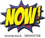 now | Shutterstock .eps vector #580405708