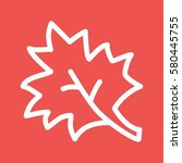 maple leaf | Shutterstock .eps vector #580445755