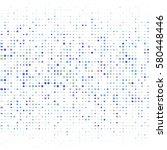 halftone circular elements | Shutterstock .eps vector #580448446