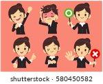 vector set of working women ...   Shutterstock .eps vector #580450582