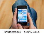 kyiv   february 11  hand... | Shutterstock . vector #580473316