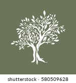 olive tree vector illustration | Shutterstock .eps vector #580509628