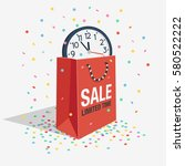 special offer sale discount... | Shutterstock .eps vector #580522222