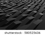 abstract 3d rendering of gloss... | Shutterstock . vector #580525636