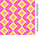 seamless geometric pattern with ... | Shutterstock .eps vector #580556305