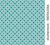 vintage pattern graphic design | Shutterstock .eps vector #580561066