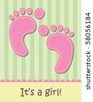 Baby Girl Arrival Announcement...