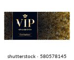 vip club party premium... | Shutterstock .eps vector #580578145