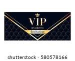 vip club party premium... | Shutterstock .eps vector #580578166