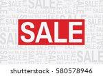 sale label on white background... | Shutterstock .eps vector #580578946