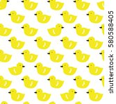 vector doodle pattern with... | Shutterstock .eps vector #580588405