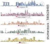 abstract vector illustrations...   Shutterstock .eps vector #580628485