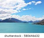 beautiful landscape at the beach | Shutterstock . vector #580646632