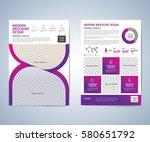 business brochure  leaflet ... | Shutterstock .eps vector #580651792