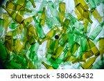 recycling glass | Shutterstock . vector #580663432