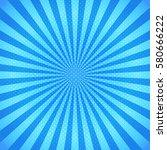 swirling radial background. | Shutterstock .eps vector #580666222