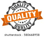 quality. stamp. sticker. seal.... | Shutterstock .eps vector #580668958
