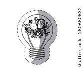 brain hosting data icon stock ...   Shutterstock .eps vector #580680832